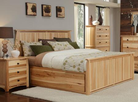ADANT5171K5P Adamstown 5 Piece Bedroom Set with King Sized Storage Bed  Chest  Dresser  Mirrror and