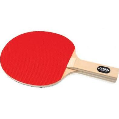 T1202 Hardbat Table Tennis Racket with Straight Handle and 5-ply