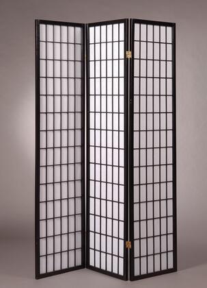 5034-BK Shoji Style 70.5 x 51 3 Panel Room
