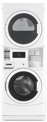 "MLE20PDCYW 27"""" Energy Star Rated Commercial Washer/Dryer Laundry Center with 3.1 cu. ft. Capacity Washer  6.7 cu. ft. Capacity Dryer  Microprocessor Controls"" 497705"