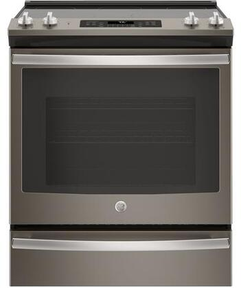GE JS760ELES Slate Series 30 Inch Slide-in Electric Range