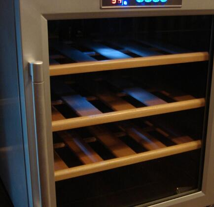 WR-16 16 Bottles Wine Cooler Wood Racking