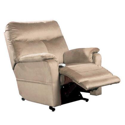 Cloud NM1750-OCM-A11 38 inch  Power Recliner Lift Chair with 3-Position Mechanism  Chaise Pad and Sinuous Spring with Pocket Coil Seat in