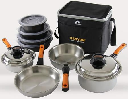 Kenyon A70063 StacKEN Pots and Pans Set Multi-Piece Stainless Steel