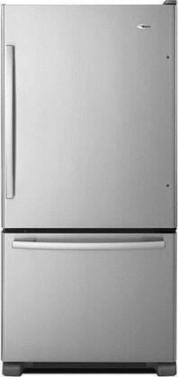 Amana 22.1 Cu. Ft. Bottom-Freezer Refrigerator Stainless Steel ABB2224BRM