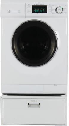 Equator 1.6 Cu. Ft. 7-Cycle Washer and 3-Cycle Dryer Electric Combo White EZ 4400CV W +PDL