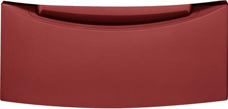 "GFP1328PKRR 13"" High Storage Pedestal For 28"" Front Load Washer or Dryer  in Ruby"