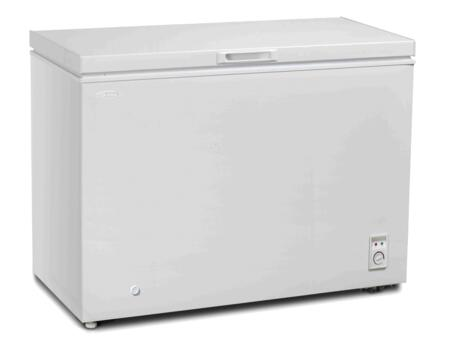 DCFM090C1WDB Chest Freezer with 9 cu. ft. Capacity  Environmental friendly R600A Refrigerant  Manual Defrost  in