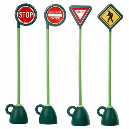 9402D Traffic Signs 4 Pc Signage