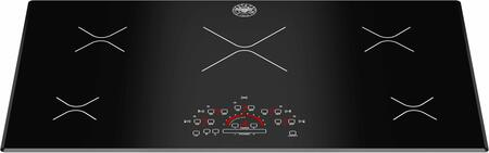 "P365IME 36"" Induction Cooktop with 5 Cooking Zones Touch Controls Heat Booster Function and Glass Ceramic Top in"