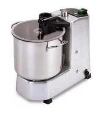 FP15 Food Processor with Bowl Capacity of 1.5 Gallons  High Tempered Stainless Steel Cutting Blades  in Stainless