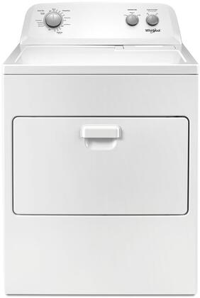 "WED4850HW 29"" Electric Top Load Dryer with AutoDry  7 cu. ft. Capacity  Hamper Door  Timed Dry  in"
