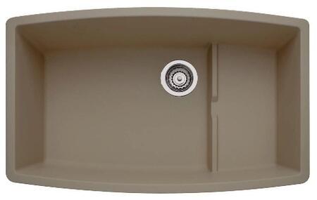 441291 Performa Silgranit Cascade Super Single Bowl Kitchen Sink In