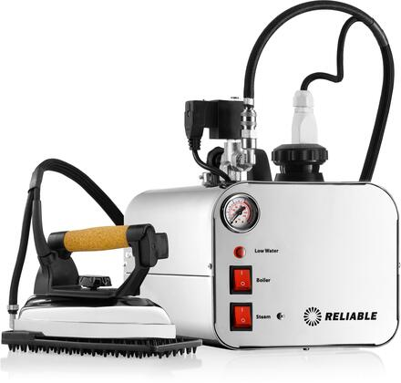 5000IS/2150IR Professional Steam Iron Station with 11.5 ft. Steam Hose  .66 Gallon Water Capacity  Stainless Steel Tank and Steam Iron with 7 ft. Steam Hose