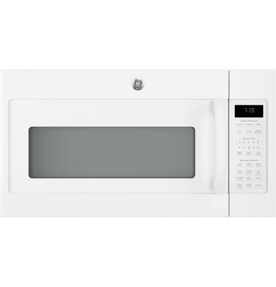 GE JVM7195DKWW 1.9 Cu. Ft. White Over-the-Range Microwave