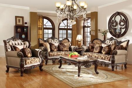 6 Piece Living Room Set with Sofa  Loveseat  Arm Chair  Coffee Table  End Table and Chaise in