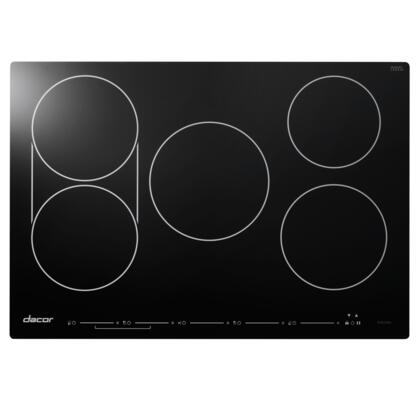 "DYTT305NB 30"" Discover Series TouchTop Induction Cooktop with 5 Elements  SenseTech Induction Technology  Hot Zone Warning  Power Boost  and Child Lock:"