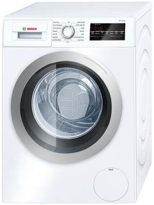 Bosch WAT28401UC 500 Series 2.2 Cu. Ft. White Stackable Front Load Washer Energy Star