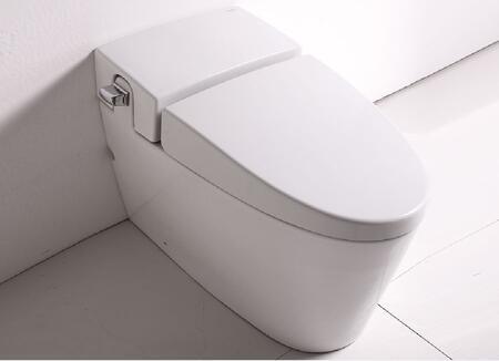 TB340 Ultra Low Single Flush Eco-Friendly Ceramic Toilet with Porcelain  Large 2