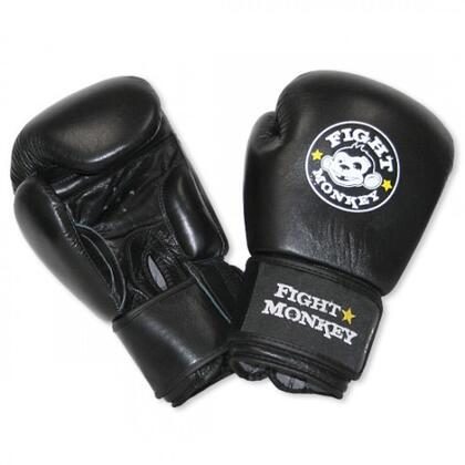 FM-601-LEA-GLOV16 16oz Leather Training Gloves with Machine Molded Flexible Latex Rubber Padding  Velcro Closure and Universal Fit  in