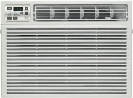 GE AEE12DT 11,800 BTU Room Air Conditioner with 11,000 Heating BTU, 270 CFM, 11.0 CEER, 2 Pts/Hr Dehumidification Capacity, Electronic Digital Thermostat with Remote and Energy Saver Feature AEE12DT