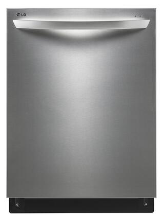 """LDF8764ST 24"""""""" ENERGY STAR Fully-Integrated Steam Dishwasher with 15 Place Settings  3 Cycles  EasyRack Plus  TrueSteam Generator and Ultraquiet 44 dBA"""" 355937"""