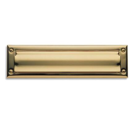 0014.003 0014 Letter Box Plate Lifetime in Polished