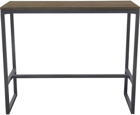 TEXBTGR_Tex_Rectangular_Bar_Height_Table_with_Dark_Wood_Top_and_Gun_Metal_Finished__in