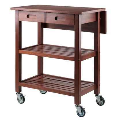 Jonathan 94734 28 inch  Kitchen Cart with 4 Casters