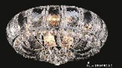 Corona Collection SP81079F-24C 24 inch  Wide Chandelier in Chrome