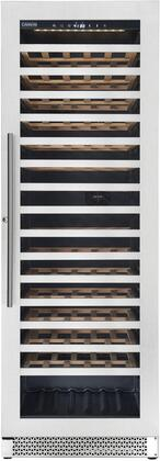 V163WSZ Vinoa Series Wine Cooler with 163 Wine Bottles Capacity  LED Digital Control  Single Zone  Security Lock  Automatic Defrost  and Charcoal Filter  in