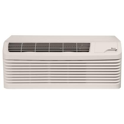 PTC154G50CXXX Packaged Terminal Air Conditioner with 14800 BTU Cooling and 17100 BTU Heating Capacity  5.0 kW Electric Heat  Quiet Operation  R410A Refrigerant