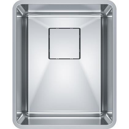 PTX110-14 Pescara 14 3/4 inch  Single Bowl Undermount Stainless Steel Kitchen