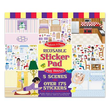4197 Reusable Sticker Pad - Play
