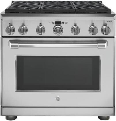 C2Y366SELSS 36 inch  Professional Freestanding Dual Fuel Range with 6 Sealed Burners  6.2 cu. ft. Capacity  Electronic Ignition  in Stainless