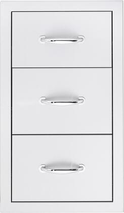 SSDR3 Triple Drawer  in Stainless