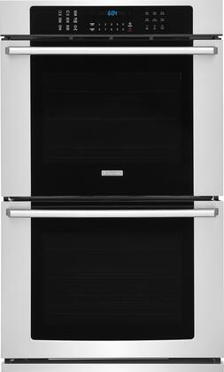 EI30EW48TS 30 inch  Double Wall Oven with 10.2 cu. ft. Total Capacity  in Stainless