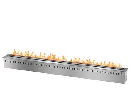 RCFB15K 60 inch  Smart Burner Collection Bio Ethanol Fireplace Insert with Remote Controlled Smart