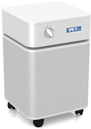 B410WHI Pet Machine HEPA Air Purifier  400 CRM  1500 Sq. Ft.  15lb Carbon Blend  360 Degree Intake  Smooth Roll Casters and 3 Speed Fans in 357228