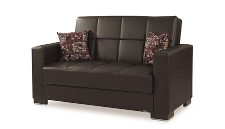 Armada Collection ARMADA LOVESEAT #15 BLACK PU 11-181 65