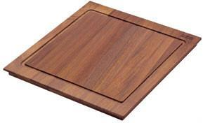 PX-40S Iroko Solid Wood Cutting Board for Peak Series