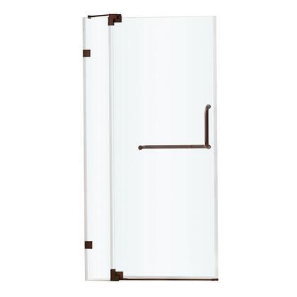 VG6042RBCL36 VIGO Pirouette 36-inch Frameless Shower Door 3/8 inch  Clear Glass/Oil Rubbed Bronze