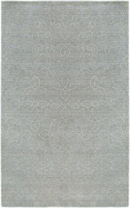 Uptup288400460810 Uptown Up2884-8 X 10 Hand-loomed New Zealand Wool Blend Rug In Light Gray  Rectangle