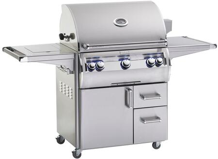 E660S4EAN62 Echelon Diamond Series Freestanding Gas Grill with 660 sq. in. Cooking Area  3 Burners  Double Wall Seamless 304 Stainless Steel Hood  Analog