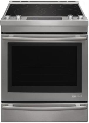 JES1450DS 30 inch  Slide-In Electric Range with 5 Elements  7.1 cu. ft. Capacity  Baking Drawer  3 Oven Racks  and Self Clean  in Stainless