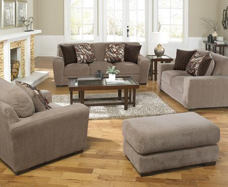 Prescott Collection 44874PCSTLARMBNKIT1OT 4-Piece Living Room Sets with Stationary Sofa  Loveseat  Living Room Chair and Ottoman in