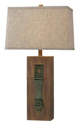 32091WDG Locke Table Lamp in Wood Grain