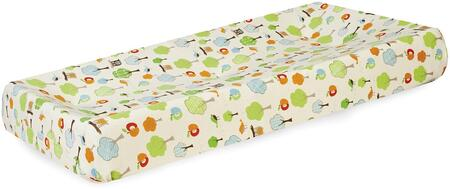 276212 32 inch  x 16.5 inch  x 6.5 inch  Treetop Friends Changing Pad Cover  100%