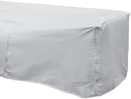 1254 32 inch  x 40 inch  Outdoor Sectional Right Arm Cover with UV Treated  Water Resistant  Soft Fleece Polypropylene Backing and Heavy Duty Vinyl Fabric in Grey
