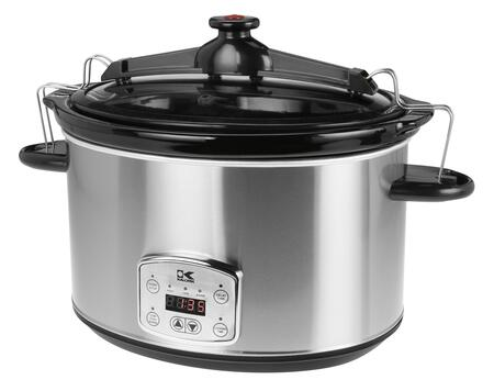 SC 41175 SS Stainless Steel 8 Qt Digital Slow Cooker with Locking